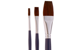 Ox Hair Bristle Brushes