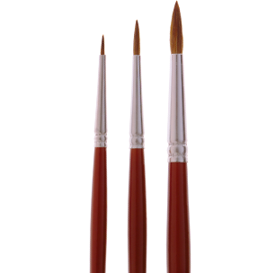 4905 Fine Red Sable Watercolor Brush