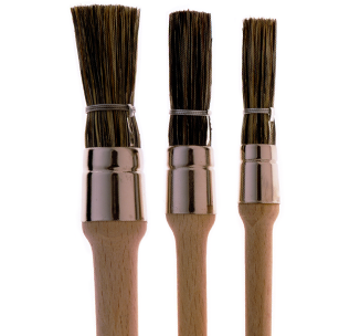 173 Bridled Glue Brushes