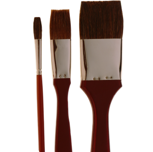 2190 Ox Hair Sign Painting Brushes