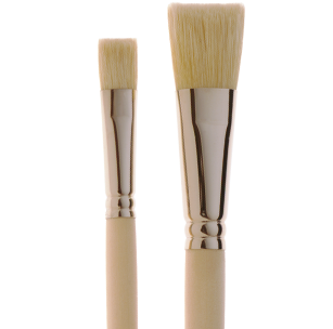 2203 French White Bristle Banner Fitch Brush