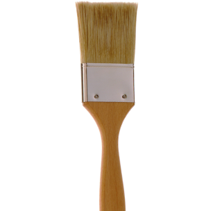 2191 White Bristle Cutter Brush