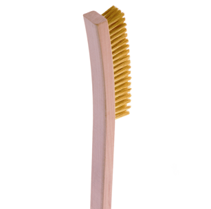 264/244 Fine Steel or Brass Bristle Wire Scratch Brush