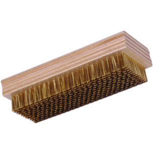 918 Oversized Halftone Cleaning Brush, Brass or Stainless Steel