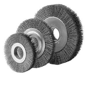 2300 Large Diameter Wire Wheels Brush w/ Arbor Adapters to Your Spec